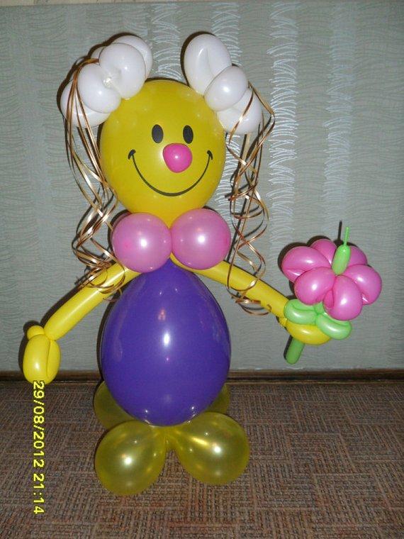 Подарки из воздушных шаров к дню рождения своими руками 78